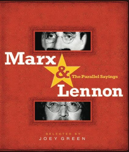 Marx & Lennon: The Parallel Sayings 9781401308094