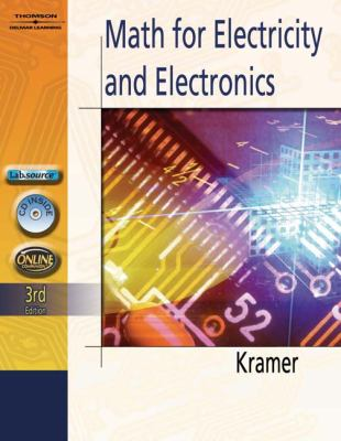 Mathematics for Electricity and Electronics [With CDROM] 9781401870966