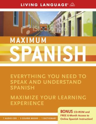 Maximum Spanish [With CDROM and 2 Course Books and Dictionary] 9781400009541