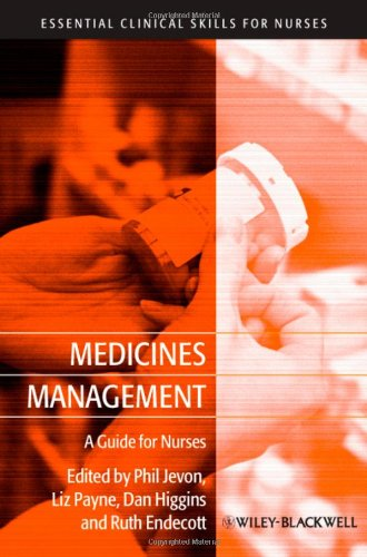 Medicines Management: A Guide for Nurses 9781405181631