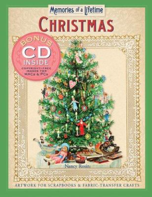 Memories of a Lifetime: Christmas: Artwork for Scrapbooks & Fabric-Transfer Crafts 9781402723674