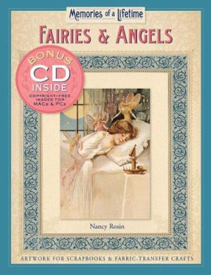 Memories of a Lifetime: Fairies & Angels: Artwork for Scrapbooks & Fabric-Transfer Crafts 9781402726408