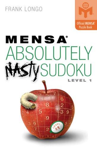 Mensa Absolutely Nasty Sudoku, Level 1