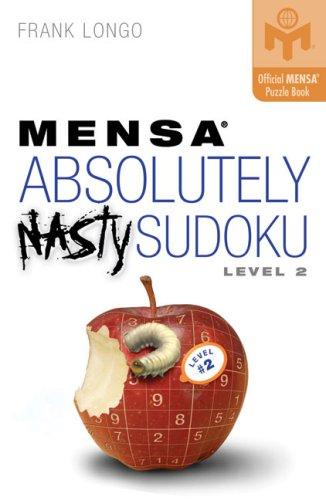 Mensa Absolutely Nasty Sudoku Level #2