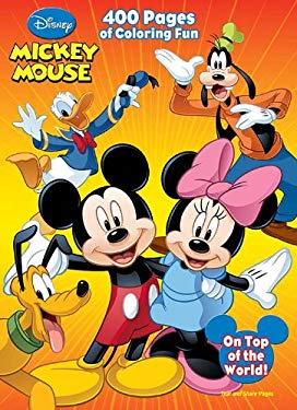 Mickey Mouse & All His Friends: 400 Pg. Book to Color