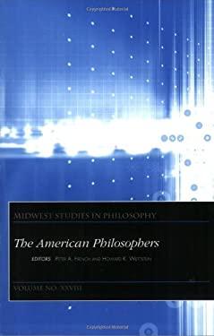 Midwest Studies in Philosophy, the American Philosophers 9781405119245