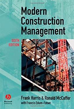 Modern Construction Management 9781405133258