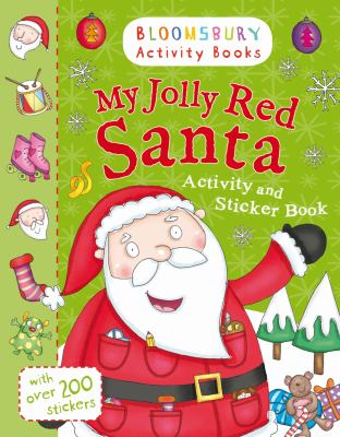 My Jolly Red Santa Activity and Sticker Book 9781408190166