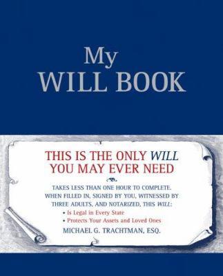 My Will Book 9781402745577