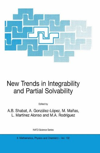 New Trends in Integrability and Partial Solvability 9781402018350