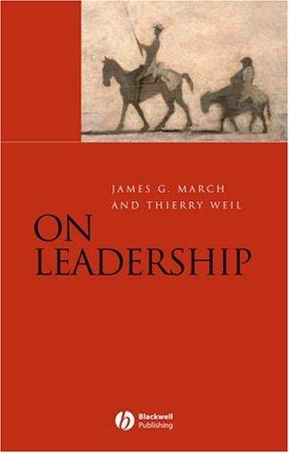 On Leadership 9781405132473