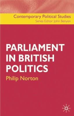 Parliament in British Po 9781403906663