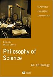 Philosophy of Science: An Anthology 6097444