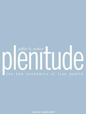 Plenitude: The New Economics of True Wealth 9781400117338