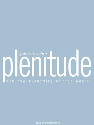 Plenitude: The New Economics of True Wealth 9781400167333