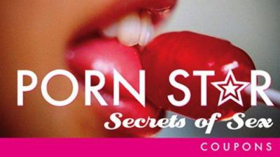 Porn Star Secrets of Sex Coupons 9781402205729