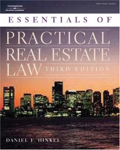 Practical Real Estate Law: The Essentials 9781401814717