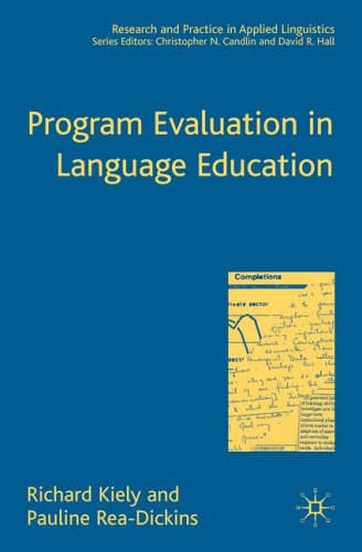 Program Evaluation in Language Education 9781403945716