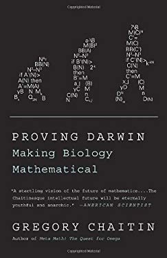 Proving Darwin: Making Biology Mathematical 9781400077984