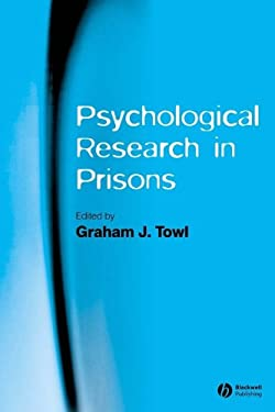 Psychological Research in Prisons 9781405133142