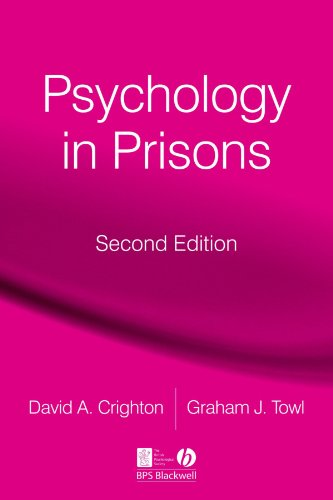 Psychology in Prisons 9781405160100
