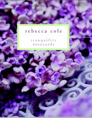 Rebecca Cole Tranquility Signature Vertical Note Cards [With 12 Tri-Fold Cards and 13 Envelopes] 9781400051854