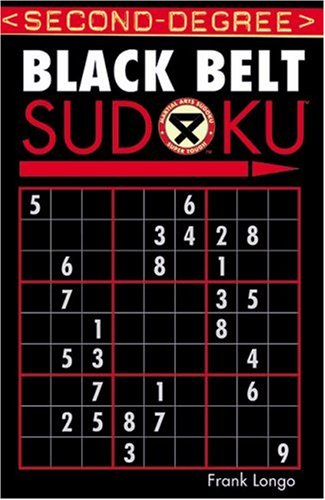 Second-Degree Black Belt Sudoku 9781402737176
