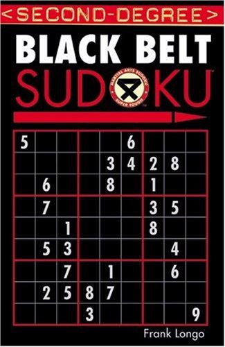 Second-Degree Black Belt Sudoku