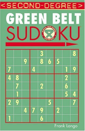 Second-Degree Green Belt Sudoku 9781402737152