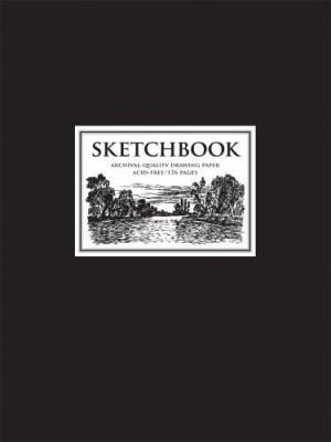 Sketchbook Black: Archival-Quality Drawing Paper 9781402740824