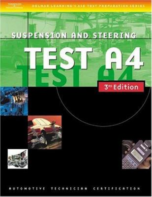 Suspension and Steering, Test A4 9781401820435