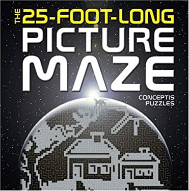 The 25-Foot-Long Picture Maze 9781402746451