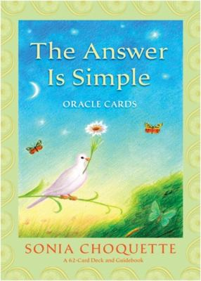 The Answer Is Simple Oracle Cards [With Guidebook] 9781401917333