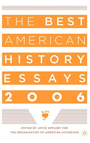 The Best American History Essays 9781403968401