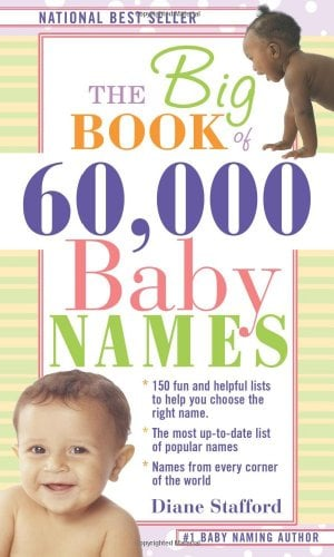 The Big Book of 60,000 Baby Names 9781402209505