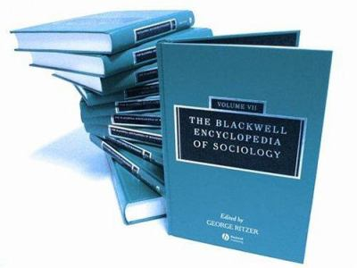 The Blackwell Encyclopedia of Sociology 9781405124331