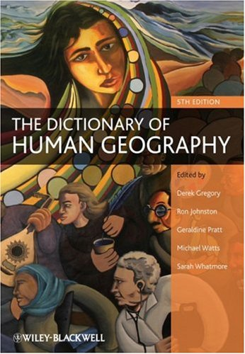 The Dictionary of Human Geography 9781405132886