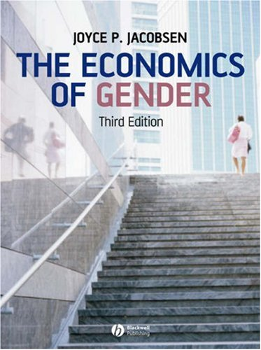 The Economics of Gender 9781405161824