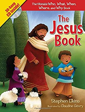 The Jesus Book: The Who, What, Where, When, and Why Book about Jesus [With CD (Audio)] 9781400314638