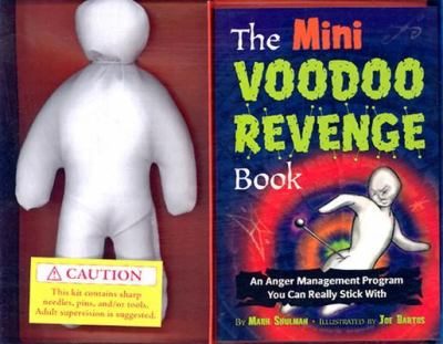 "The Mini Voodoo Revenge Book & Kit [With Vodoo DollWith 8 1 1/2"" Pins]"