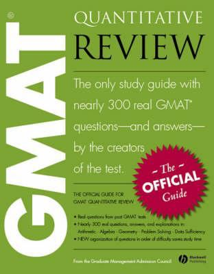 The Official Guide for GMAT Quantitative Review 9781405141772