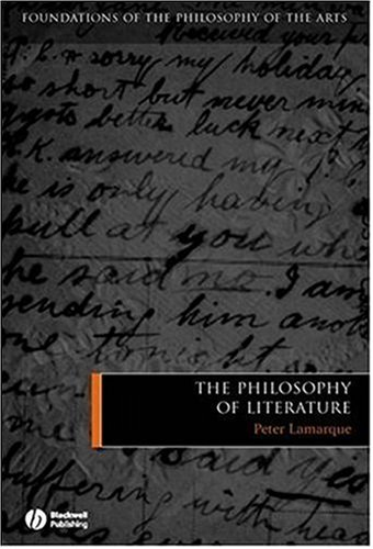 The Philosophy of Literature 9781405121972