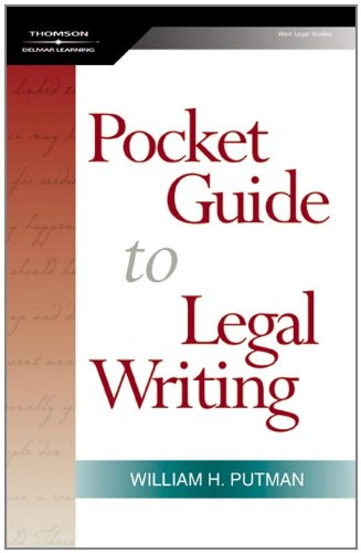 The Pocket Guide to Legal Writing 9781401865979