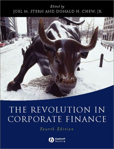 The Revolution in Corporate Finance - 4th Edition