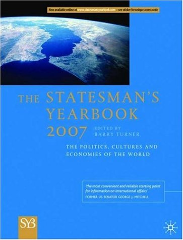 The Statesman's Yearbook: The Politics, Cultures and Economies of the World