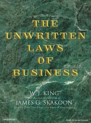 The Unwritten Laws of Business 9781400103461