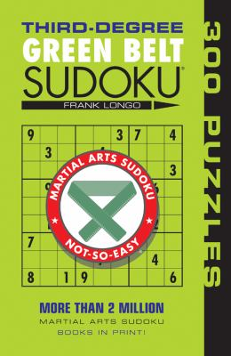 Third-Degree Green Belt Sudoku 9781402746475