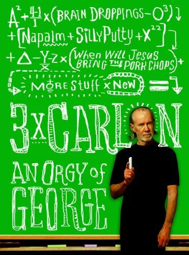 3x Carlin: An Orgy of George 9781401310554