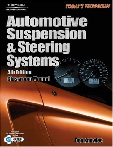 Today's Technician: Automotive Suspension and Steering Systems 9781401896829
