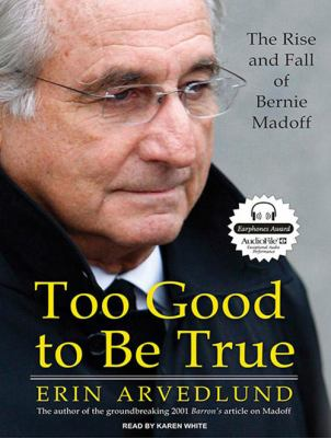 Too Good to Be True: The Rise and Fall of Bernie Madoff 9781400114108
